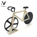 Bicycle Shape Double Wheel Pizza Cutter