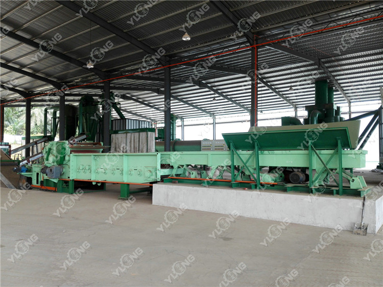Bamboo powder pellet mill