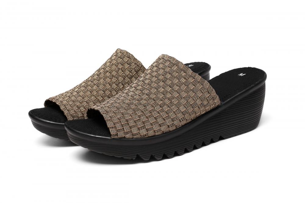 Basket Weave Slippers