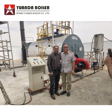 150 hp 3 ton Gas Oil Steam Boiler