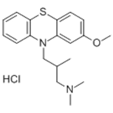 10H-Phenothiazine-10-propanamine, 2-methoxy-N, N, b-trimethyl-, हाइड्रोक्लोराइड (1: 1), (57279218, bR) - CAS 1236-99-3