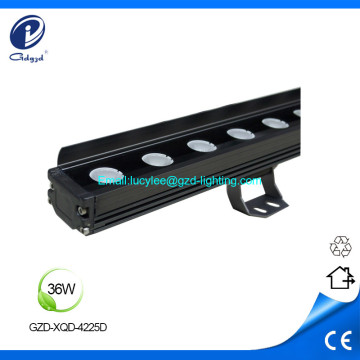 36W RGB alumunim IP65 waterproof led wall washer