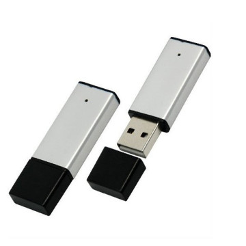 Logo Metal Clip USB Stick High Capacity