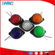 Plastic Base 6 LED Side Signal Lights For Truck Trailer