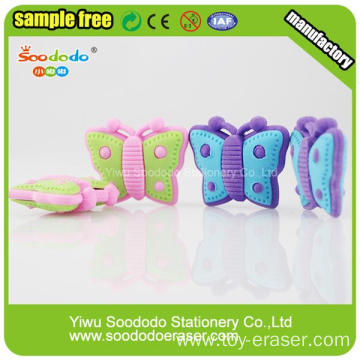 Kawaii Korean Stationery Butterfly Eraser