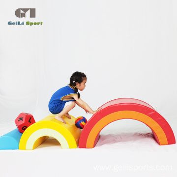Foam Rainbow Bridge Kids Soft Play