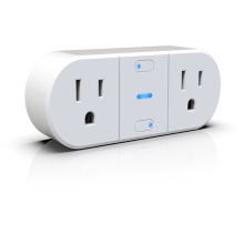 US standard double individual output WIFI smart socket