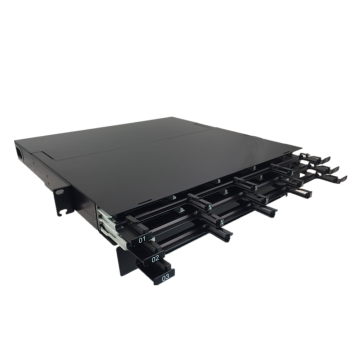 19 Inch 1U MPO Patch Panel 144 Ports