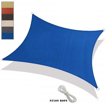 185gsm HDPE breathable Sun shade sail