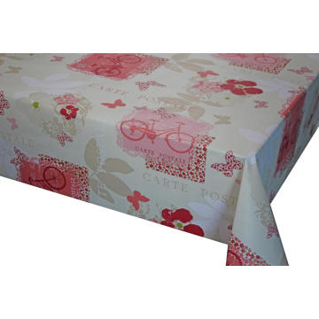 Elegant Tablecloth with Non woven backing Fabric