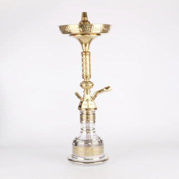 Wholesale medium size Egyptian style zinc alloy russian hookah shisha