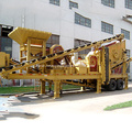 Mobile Combined Stone Crusher Plant