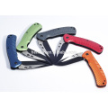 Outdoor Survival Folding Knife Pocket Aluminum Handle Knives