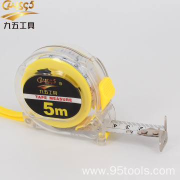 ABS Clear case tape measure steel measuring tape