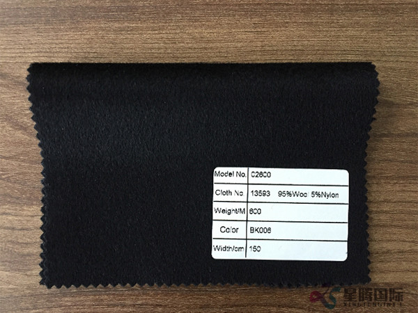 Big Discount Anti-Static 100% Wool Material