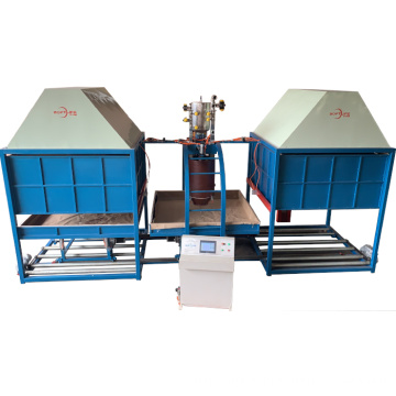 Automatic Continuous Batch Foaming Machine
