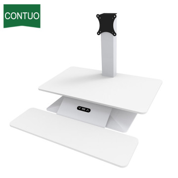 Standing Adjustable Computer Desk Riser Monitor Converter