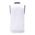 Mens Dry Fit Soccer Wear Vest White