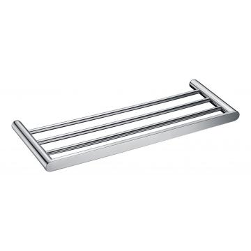 Double Towel Bar Wall Mount Shelf