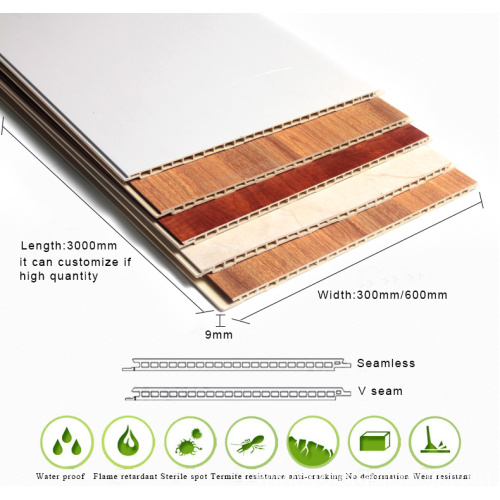 Integrated WPC Wall Panel