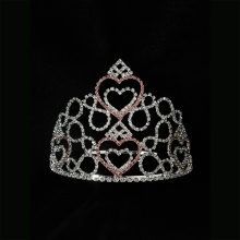 Holiday Heart Tiara Valentine's Day Pageant Crown