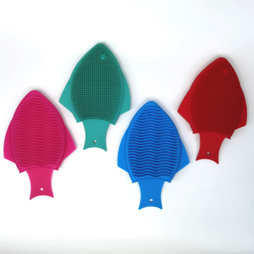 nuby silicone brush with stand