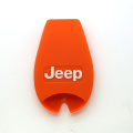 Silicon fob car key case for Jeep