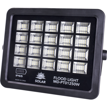 250W solar powered led flood light