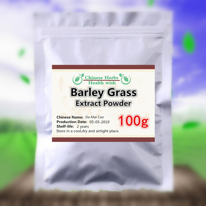 50-1000g,Anti Aging,Improve Energy And Rebuild the Immune System,Barley Grass Extract powder,Da Mai Cao,Nutrition Supplement