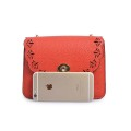 Small New Fashion Flower Leather Lady's Crossbody Bag