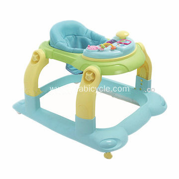 Foldable Rolling Baby Walker