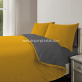 100% Polyester Material Customizable Solid Fabric Sheet Sets