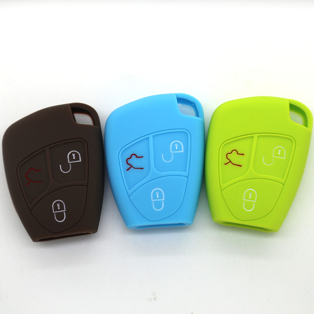 3 buttons car key cover