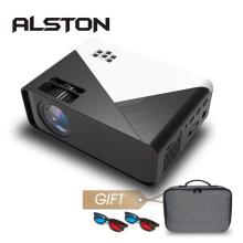 ALSTON W15 HD Mini Projector 3500 Lumens 720P Support 1080P LED Android WiFi Projector Video Home Cinema HDMI VGA AV Movie Game