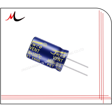 Long life 10000hours JWCO capacitors 2200UF 50v 18*35 105c