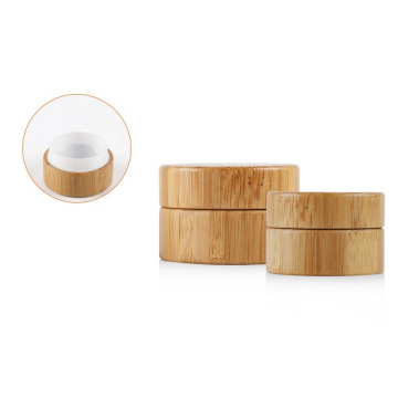 30g Environmental empty bamboo cosmetic jars and bottles