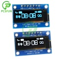 0.91 Inch OLED LCD Display Module Board SSD1306 Driver IC DC 3.3V-5V SPI PIN Interface 128x32 12832 Display Module for Arduino