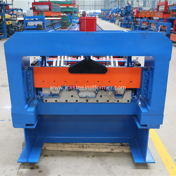 Metal floor deck profile roll forming machine