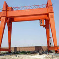 Single hook 10 ton double girder gantry crane