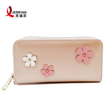 Women's Compact Zip Around Wallets Clutch Bags