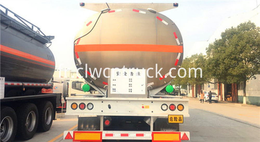 Aluminum Alloy Tank Semi trailer