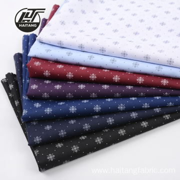 Woven Fabric Printing Microfiber fabric Printed Shirt Fabric