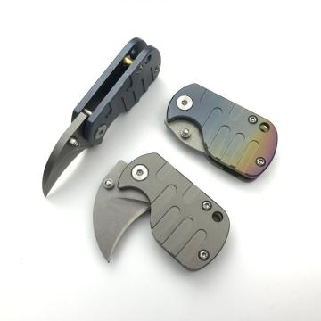 Mini Keychain Survival Hunting Pocket Knife