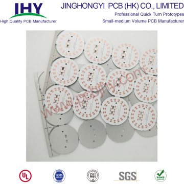 Single Layer Board 94v0 LED Round PCB