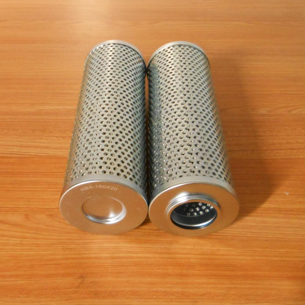 HBX-160X20 Industrial Hydraulic Oil Filter Element