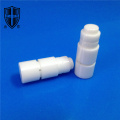 abrasive alundum 99 alumina ceramic step nozzle shaft
