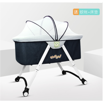 Baby Sleeping shaker Bed with mosquito net