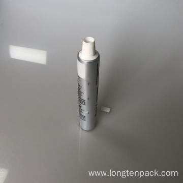 AL toothpaste tube with screw cap
