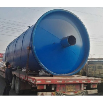 environmental waste tyre pyrolysis to fuel oil equipment