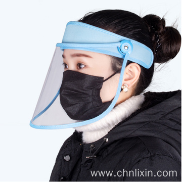 Protective anti-fog face splash shield mask medical
